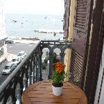 vista mare dal balconcino