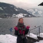 Озеро в Zell-am-See