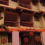 отель во время заката