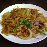 Very good pork and noodles