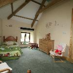 child's bedroom at humpty dumpty cottage