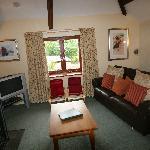 lounge at bo peep cottage