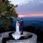 Sunset  wedding photos