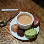 Cafe gourmand at Heurtier