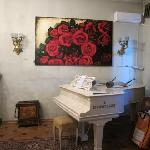 "Piano in ""living room"""