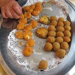 Speciali  le fritture di ogni tipo...consumate in giardino