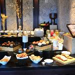 "Delicious breakfast buffet at ""La Nao"""
