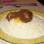 Fesenjon over rice