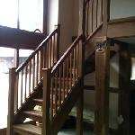 Guest staircase