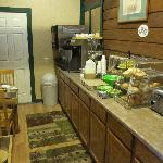 the breakfast counter