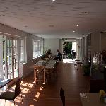 Inside the Wintergarden Cafe