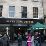 Located on the busy Royal Mile