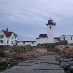 View of the Lighthouse from the breakwater