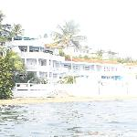 Casa la Lanchita from the water