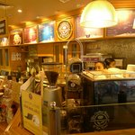 Where you order, just like Starbucks, same arrangement!
