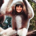 My Wife!! LOL Love you cheeky Monkey