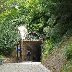 Eingang zur Grottenbahn