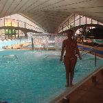 la piscina puesta en forma