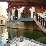 La visite de l'hôtel en bateau