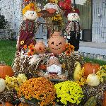 Fall display at the Yellow Rose.