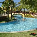 piscinas maravilhosas, água corrente