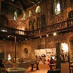 Inside Norwich Castle