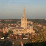 Norwich Cathedral from the Castle