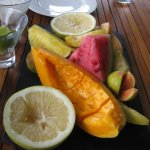 The breakfasts were amazing!  The fresh juices and fruits are brilliant!
