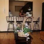 desayunador de los apartamento superior