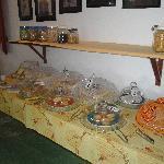 buffet café da manha
