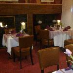 the main dining room can seat up to 30 for a party event