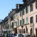 Charming street in Carouge