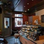 Counter area of Starbucks