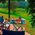 Enjoy your breakfast hamper on your private verandah