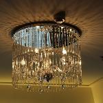 chandelier in room