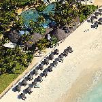 Constance Belle Mare Plage - Aerial View