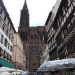 Blick hinüber zur Kathedrale