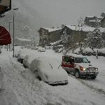 Hotel Doorstep Winter Snow