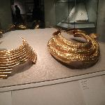 Gold from prehistoric times.