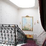 Escalier menant à l'étage