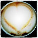 Even the coffee is made with love