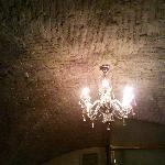 Il lampadario elegante