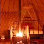 Cosy yurt