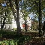 The Schloss seen from the garden