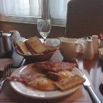 A Full Irish Breakfast awaits