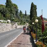 Street view in Gardone Riviera