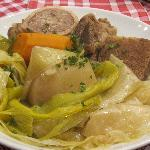The trademark dish: Pot au Feu