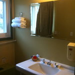 separate sink room: large and convenient