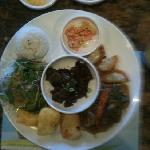 Kalbi lunch special