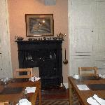 The old cooking range in the breakfast room